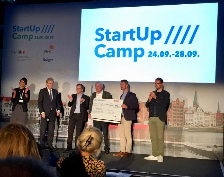 Startup Camp Gewinner